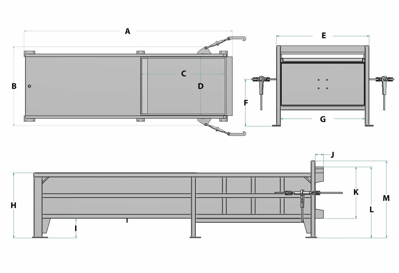 Compacteur stationnaire - 2 verges cubes
