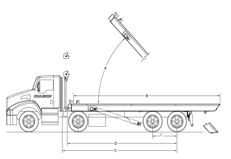 DRC-TS serie 75000 lb - sans rouleaux