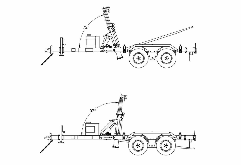 Remorque « chariot élévateur »