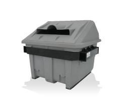 Contenant de recyclage à chargement avant
