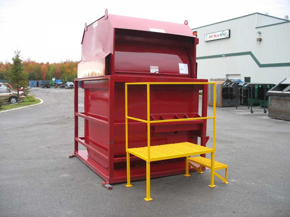 Vertical compactor