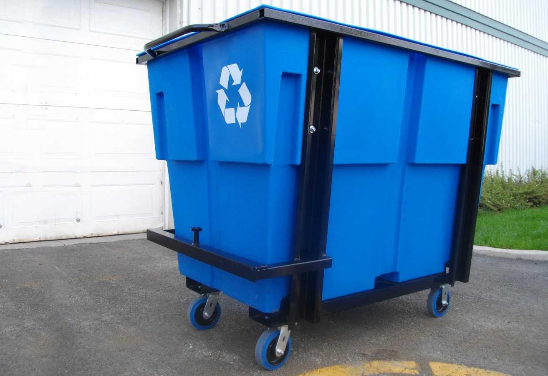 All-purpose heavy-duty polyethylene cart