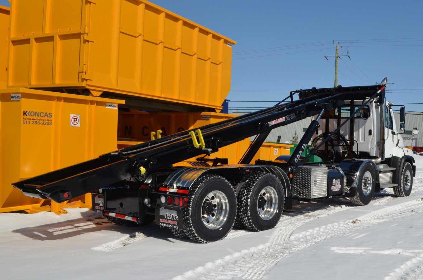 DRC-6024-OR - Système roll-off 60 000 lb sur Freightliner