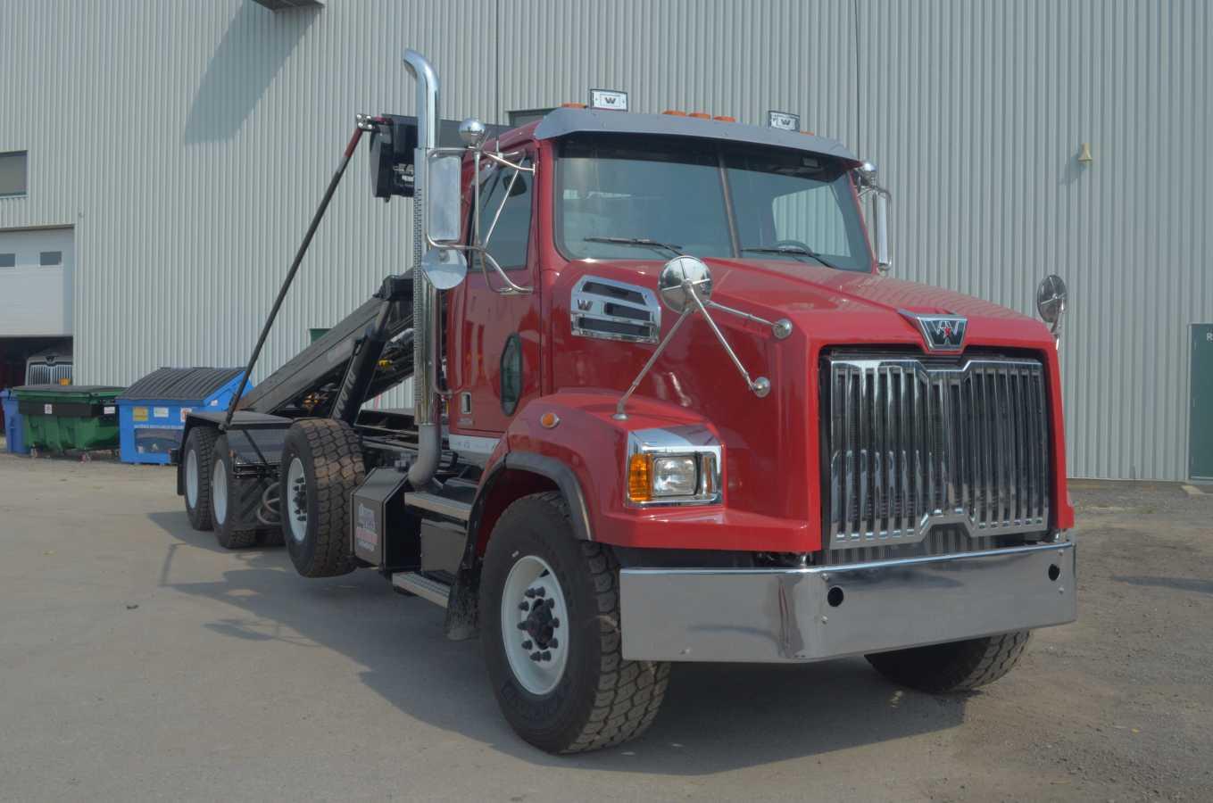 DRC-7526-TS - Système roll-off sans rouleaux « top skid » - 75 000 lb.