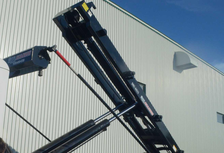 Système roll-off à longerons extérieurs avec cylindres intégrés