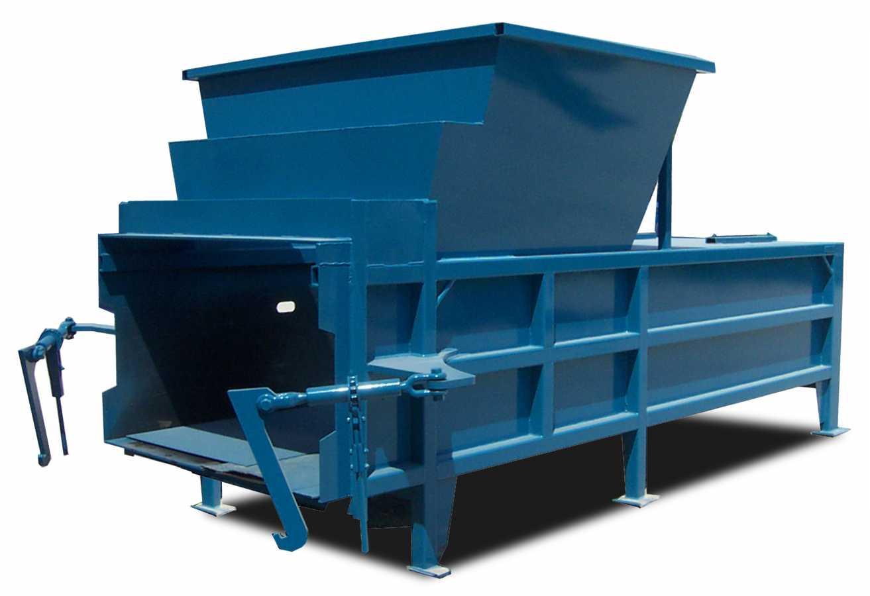 Heavy-duty industrial compactor