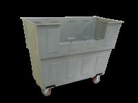 Chariot commercial tout usage en polyéthylène.