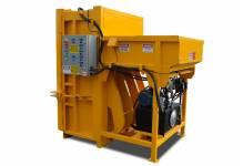 Presse verticale à carton PVB-600-RFL à chargement arrière