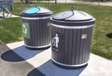 2 cubic yard plastic inground container